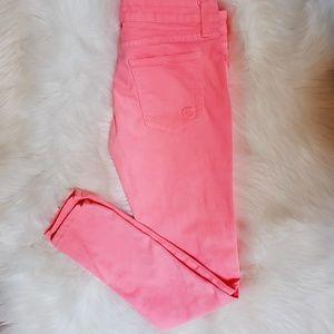 LF Carmar Skinny Jean Bright Pink (Size 26 Fit)